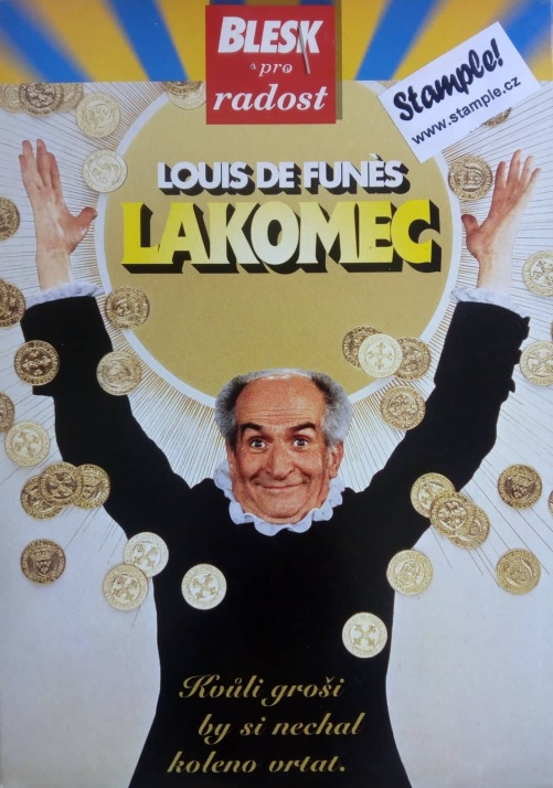 Lakomec DVD ( slim) - DVD