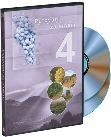 Putování za vínem 4 - DVD plast
