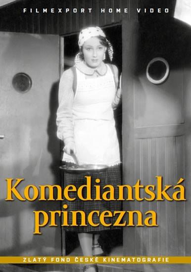 Komediantská princezna DVD Box