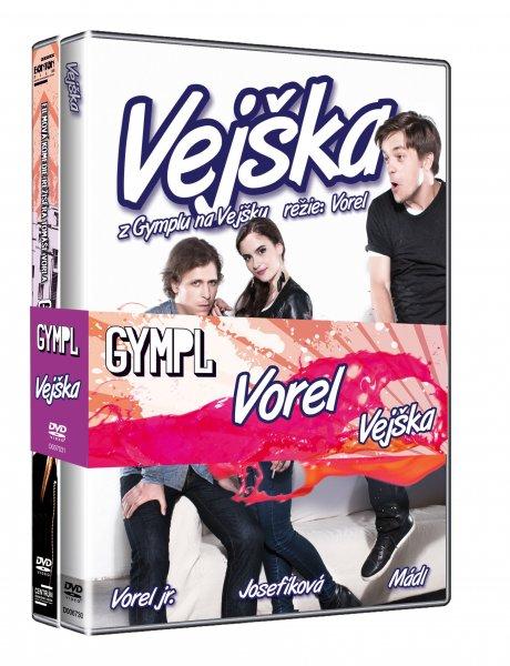 Vejška + Gympl - DVD