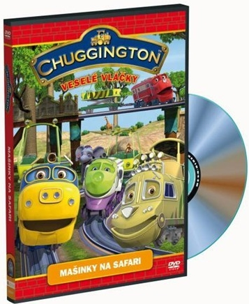 Chuggington - Veselé vláčky  - Mašinky na safari - DVD