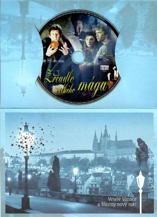 Zrcadlo velkého mága ( dárkový papír obal ) - DVD