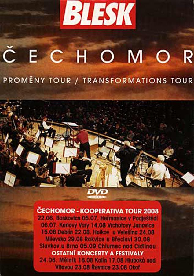 Čechomor - Proměny Tour DVD