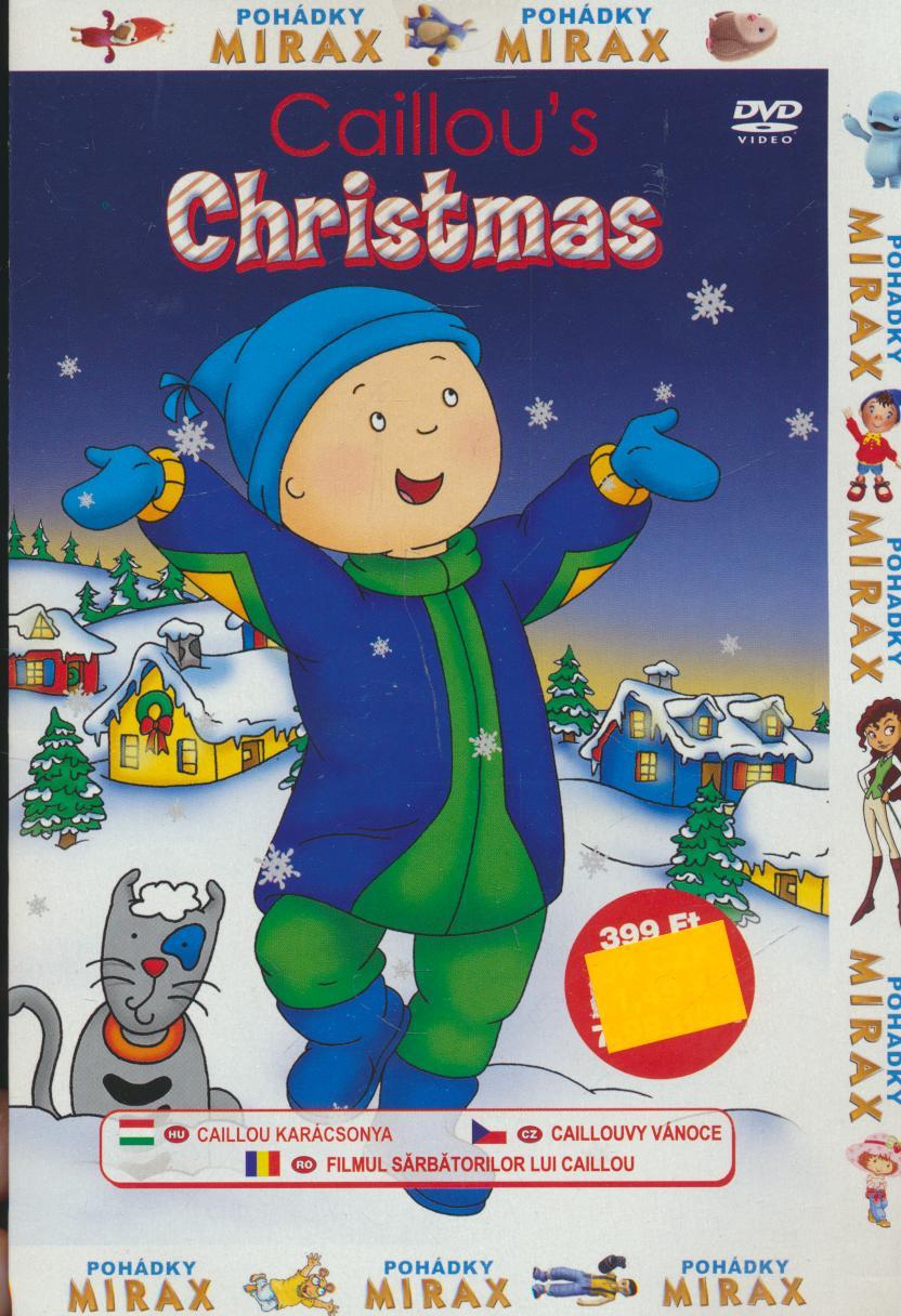 Caillouvy vánoce (Caillou´s Christmas) DVD