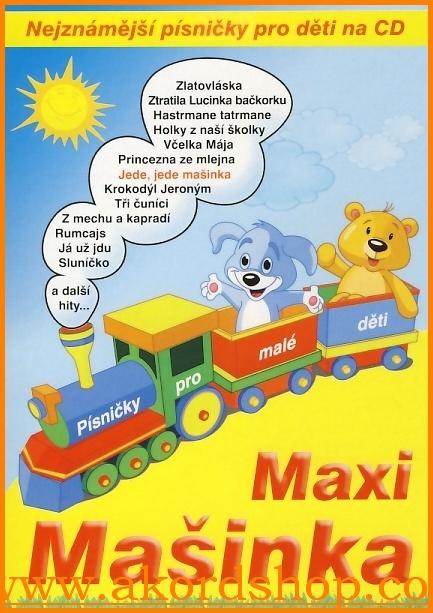 Maxi Mašinka CD