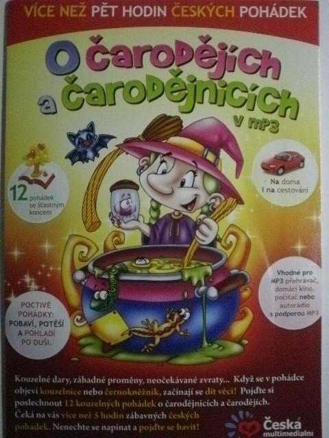 O čarodějích a čarodějnicích v mp3 CD