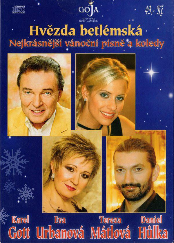 Hvězda betlémská: Nejkrásnější vánoční písně a koledy CD