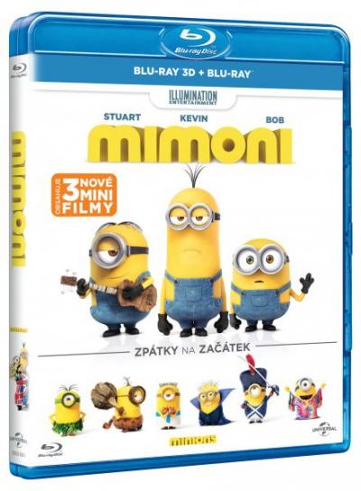 Mimoni 3D (Blu-ray)