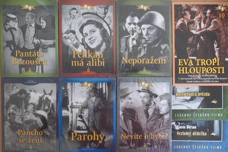 Kolekce starý český film 1. - 6DVD + 3DVD dárek
