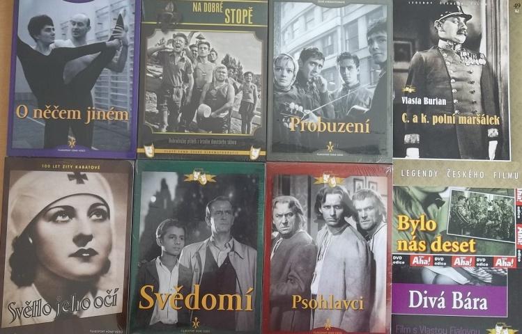 Kolekce starý český film 2. - 6DVD + 3DVD dárek