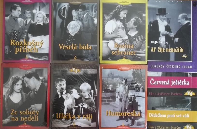 Kolekce starý český film 4. - 6DVD + 3DVD dárek