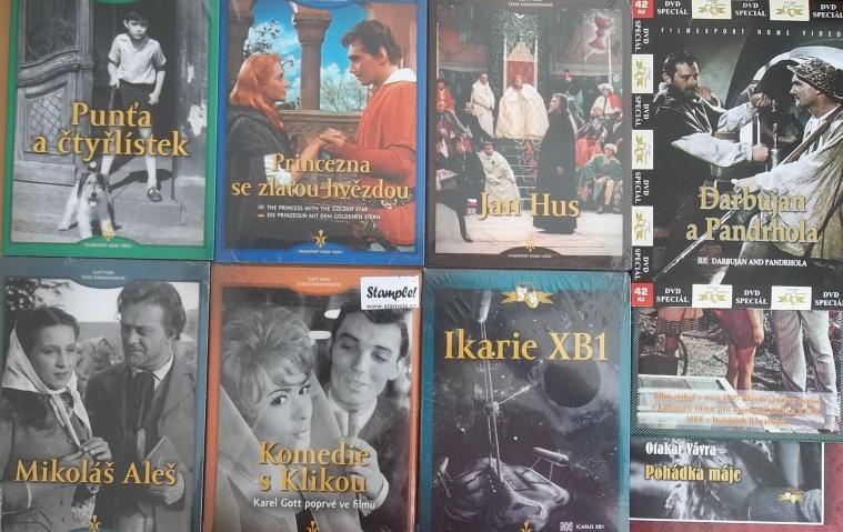 Kolekce starý český film 5. - 6DVD + 3DVD dárek