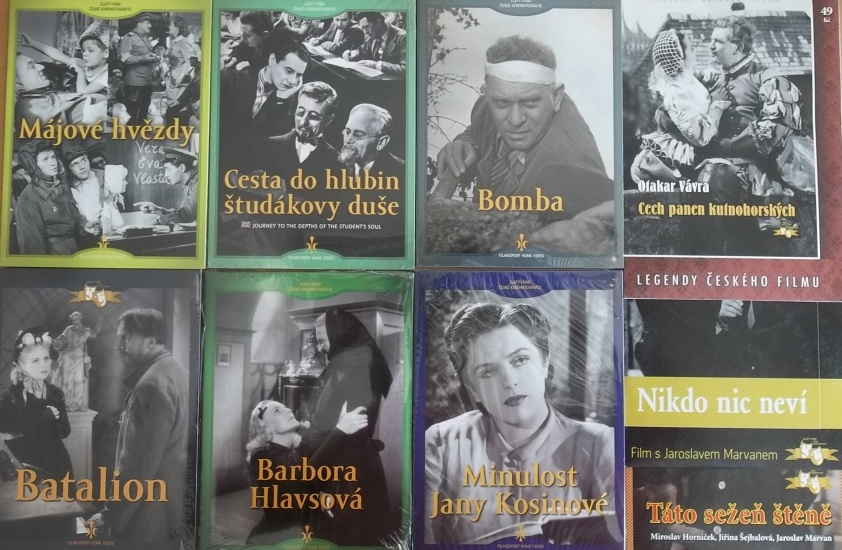 Kolekce starý český film 6. - 6DVD + 3DVD dárek