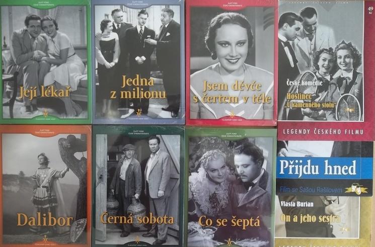 Kolekce starý český film 7. - 6DVD + 3DVD dárek