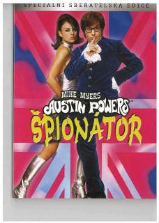 Austin Powers Špionátor DVD - digipack