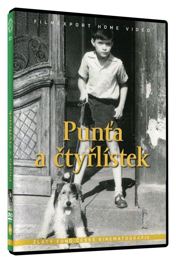Punťa a čtyřlístek - DVD box