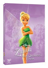 Zvonilka a velká záchranná výprava - Edice Disney Víly - DVD