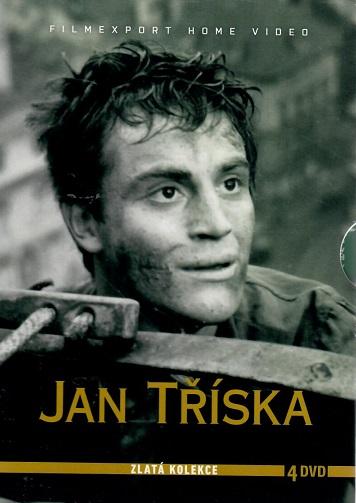 Jan Tříska - Zlatá kolekce 4 DVD