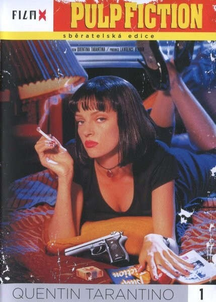 Pulp Fiction DVD - plast