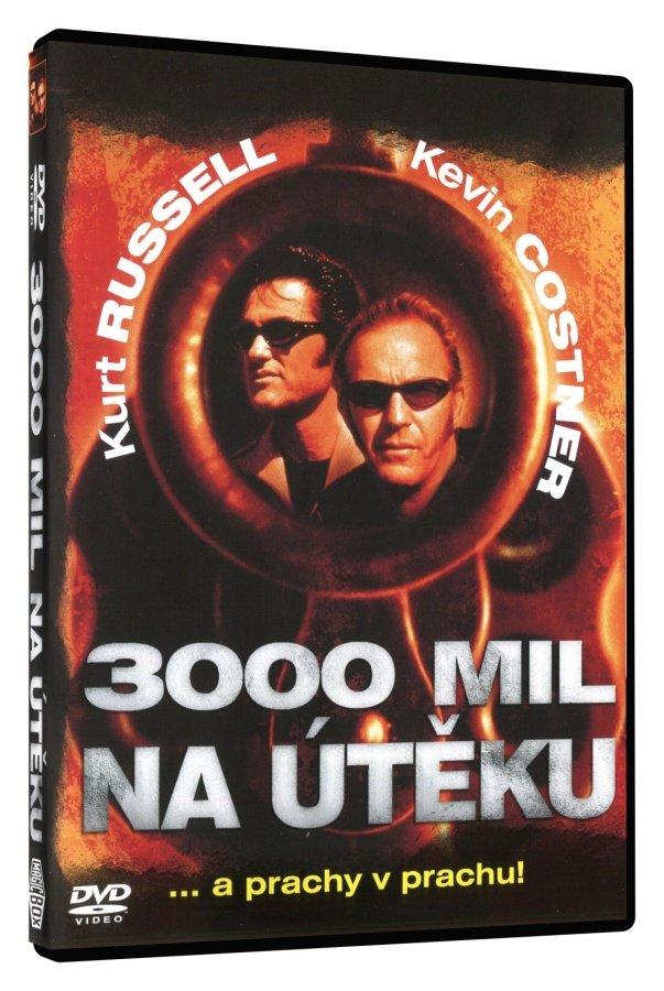 3000 mil na útěku DVD - slim