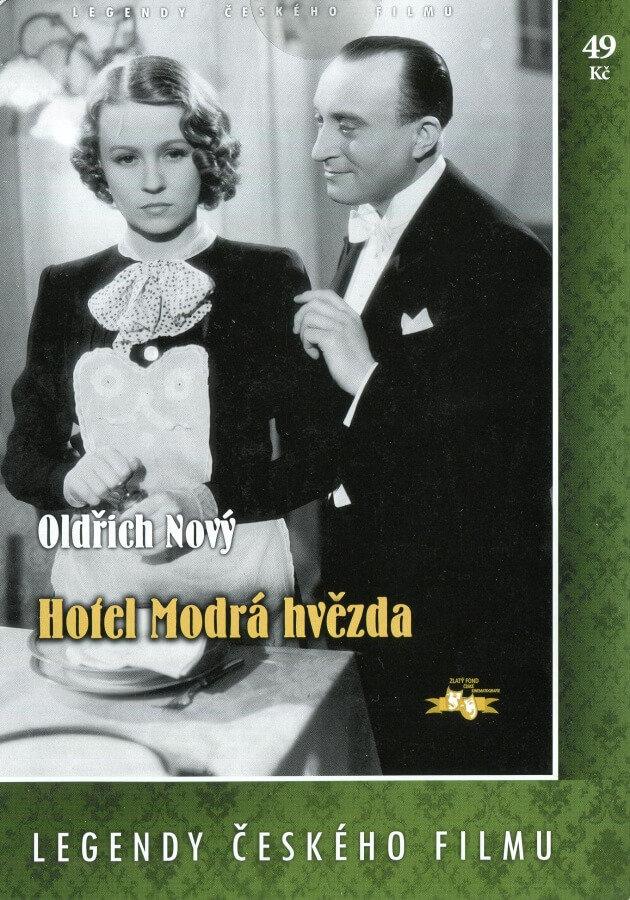Hotel Modrá hvězda - papírová pošetka DVD