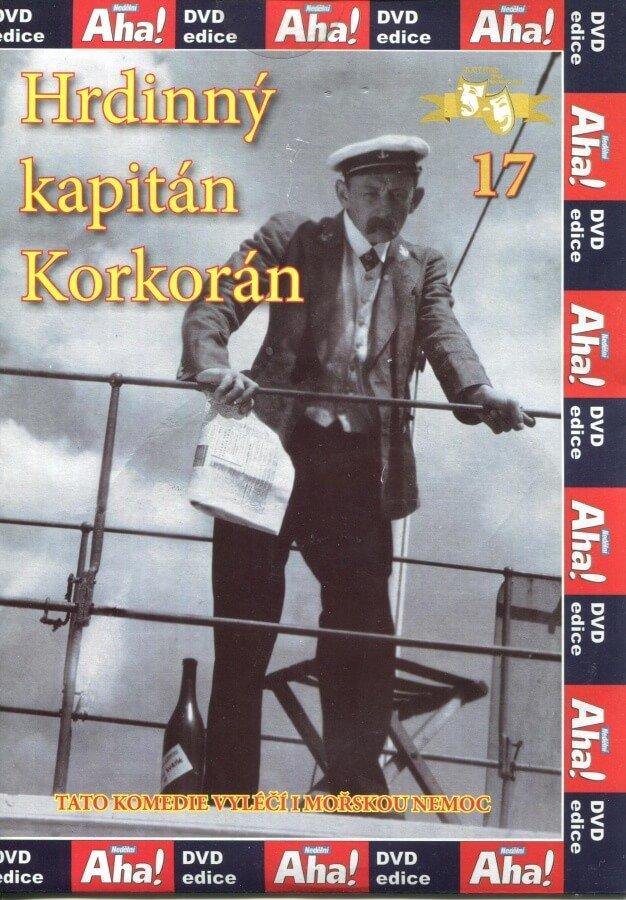Hrdinný kapitán Korkorán - Papírová pošetka DVD
