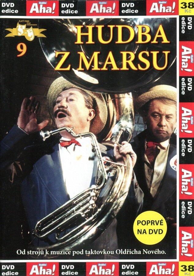 Hudba z Marsu - Papírová pošetka DVD