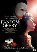 Fantom opery - DVD slim/plast