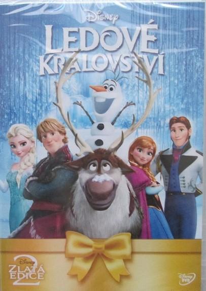 Ledové království - DVD plast