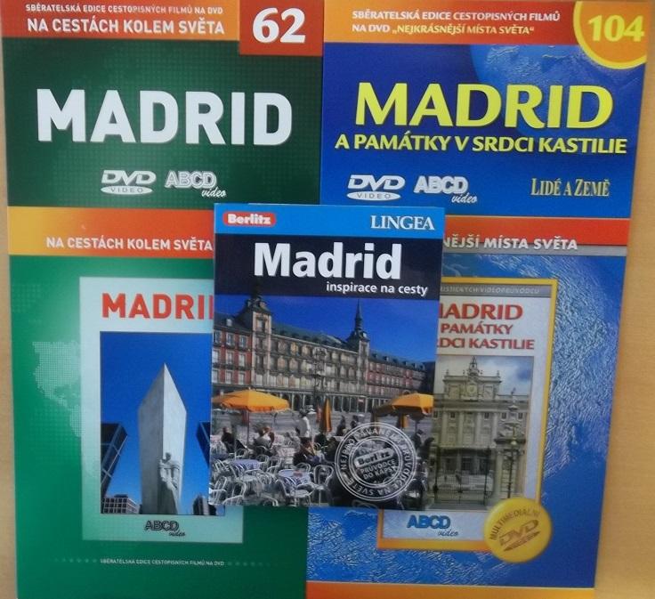 Kolekce Madrid ( 1x kniha+2x DVD cestopisné )