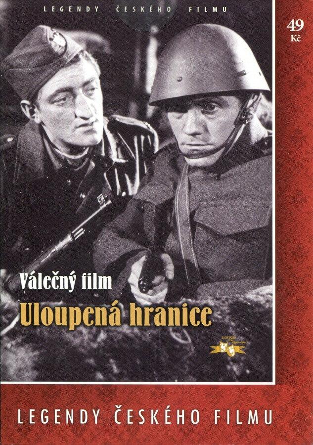 Uloupená hranice - papírová pošetka DVD