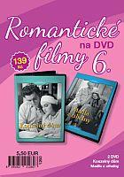 Romantické filmy 6 – 2x DVD digipack (Kouzelný dům + Madla z cihelny)