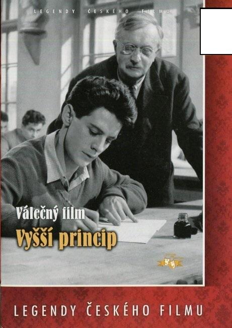 Vyšší princip - papírová pošetka DVD