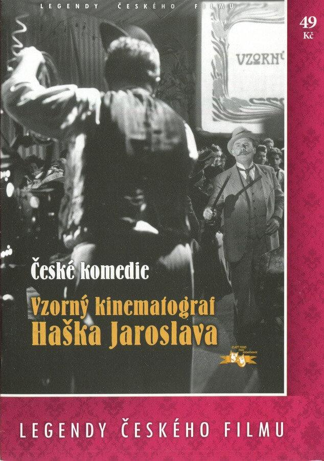 Vzorný kinematograf Haška Jaroslava - papírová pošetka DVD