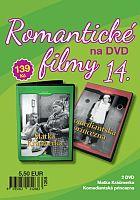 Romantické filmy 14 - 2x DVD digipack (Matka Kráčmerka + Komediantská princezna)