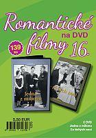 Romantické filmy 16 - 2x DVD digipack (Jedna z milionu + Za tichých nocí)