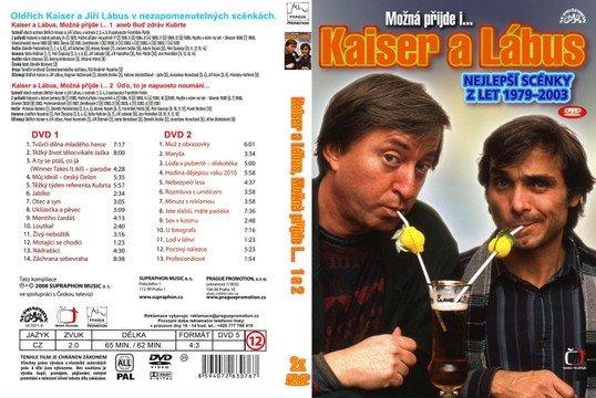 Kaiser a Lábus: Nejlepší scénky z let 1979-2003 - DVD slim/ plast