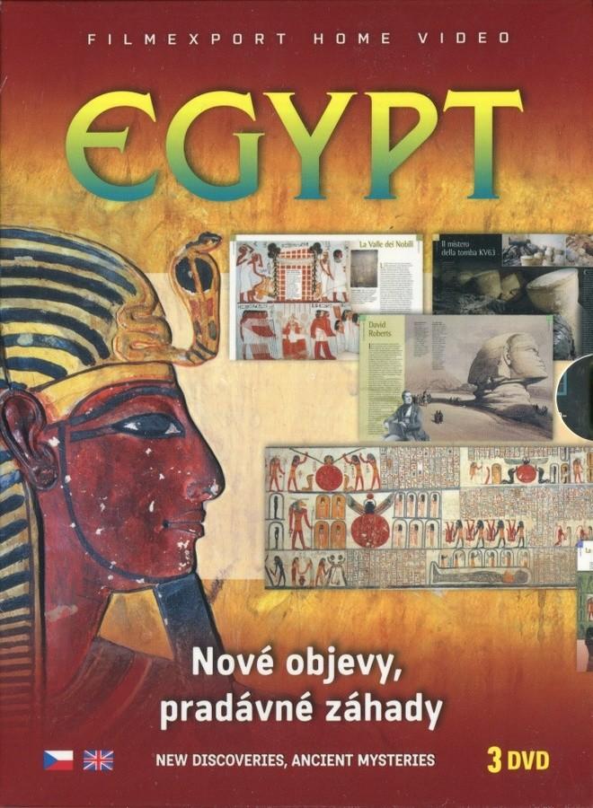 Egypt - Nové objevy, pradávné záhady - 3 DVD digipack