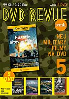 Revue Speciál 5 - Nej Military filmy na DVD - 5x DVD
