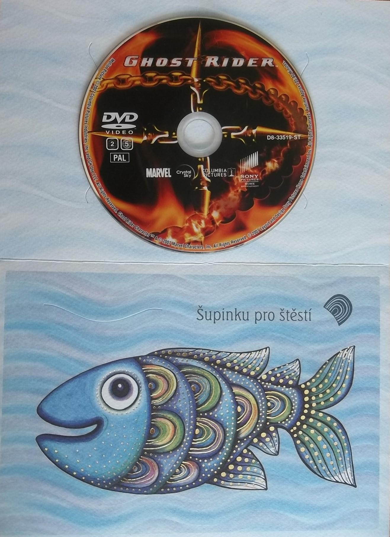 Ghost rider DVD (dárková obálka)