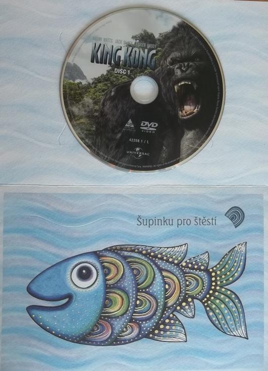 King Kong disc 1 (dárková obálka) DVD