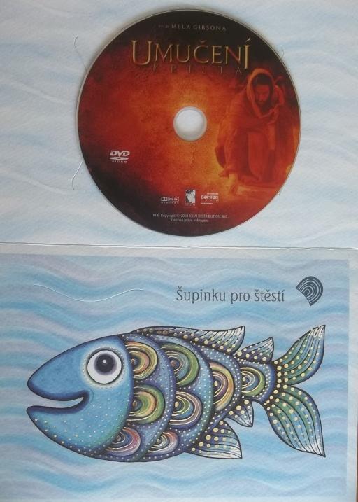 Umučení krista (dárková obálka) DVD