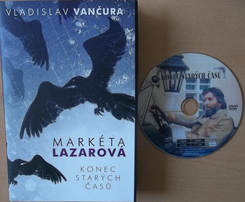 Markéta Lazarová / Konec starých časů - Vladislav Vančura + dárek DVD konec starých časů