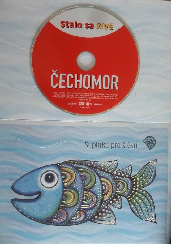 Čechomor: stalo sa živě DVD (dárková obálka)