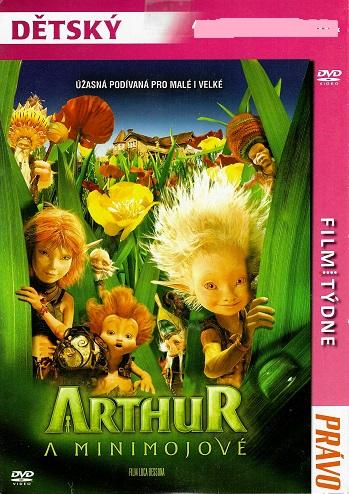 Arthur a minimojové ( pošetka ) DVD