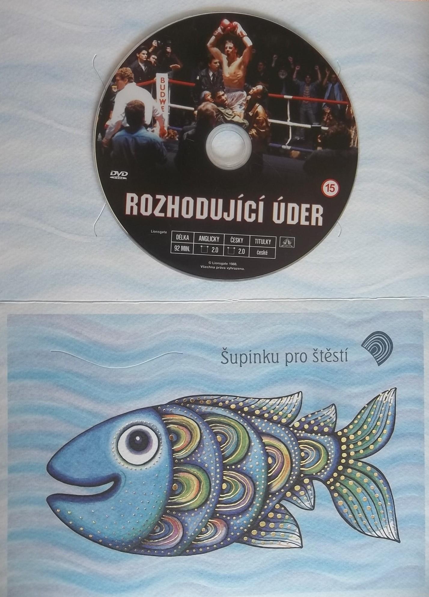 Rozhodující úder (dárková obálka) DVD