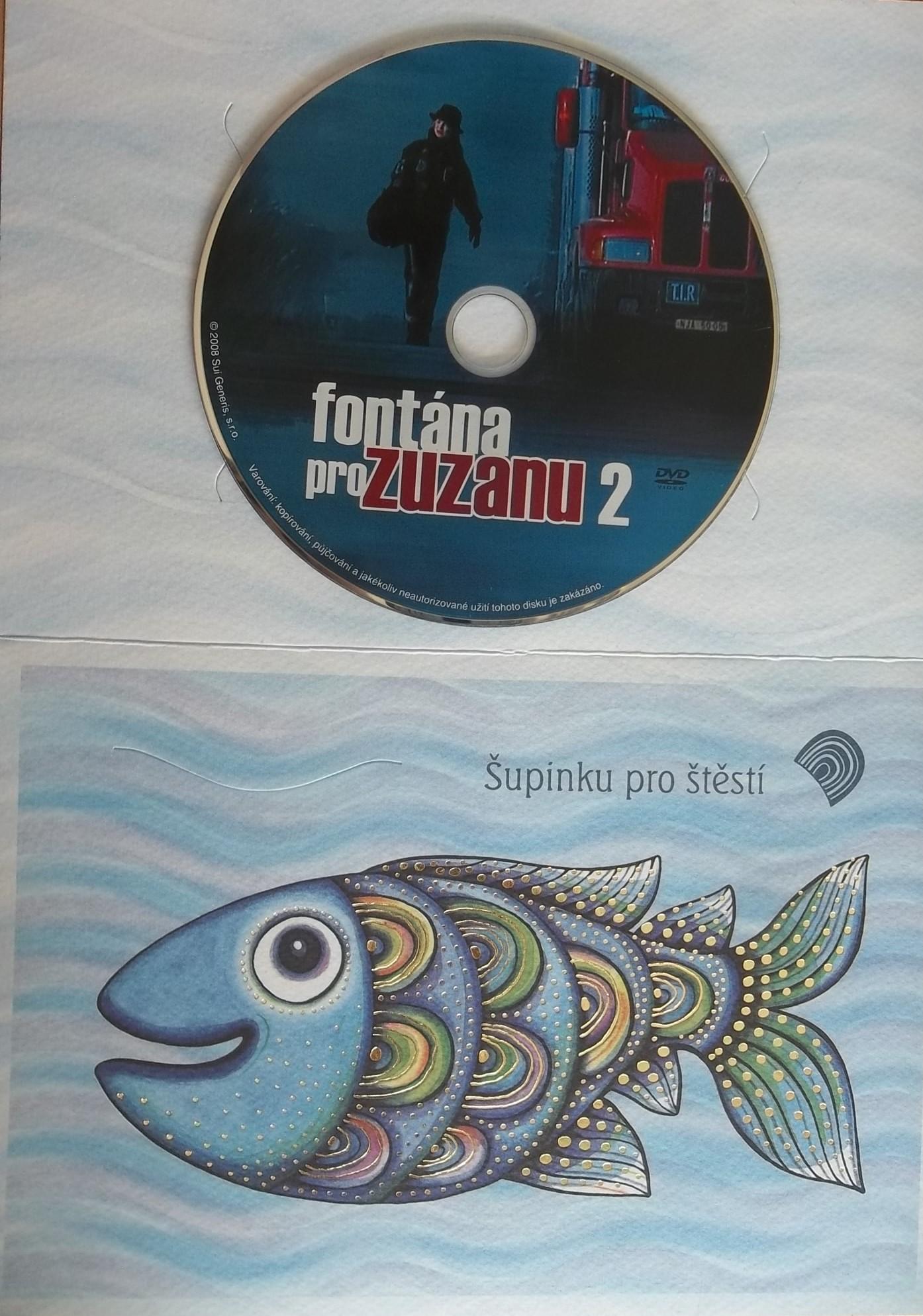 Fontána pro Zuzanu 2 (dárková obálka) DVD