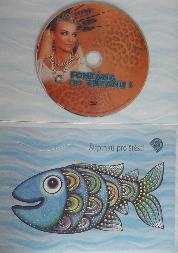 Fontána pro Zuzanu 3 (dárková obálka) DVD