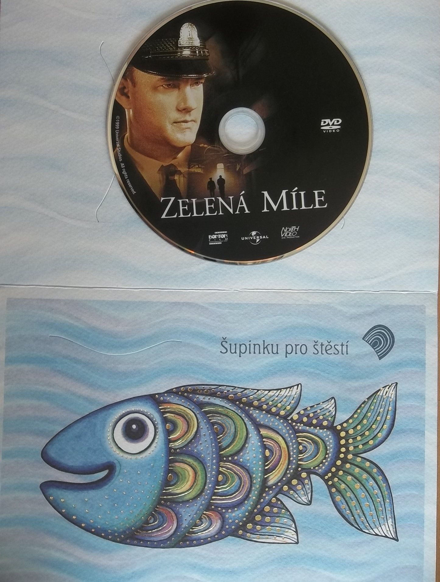 Zelená míle (dárková obálka) DVD