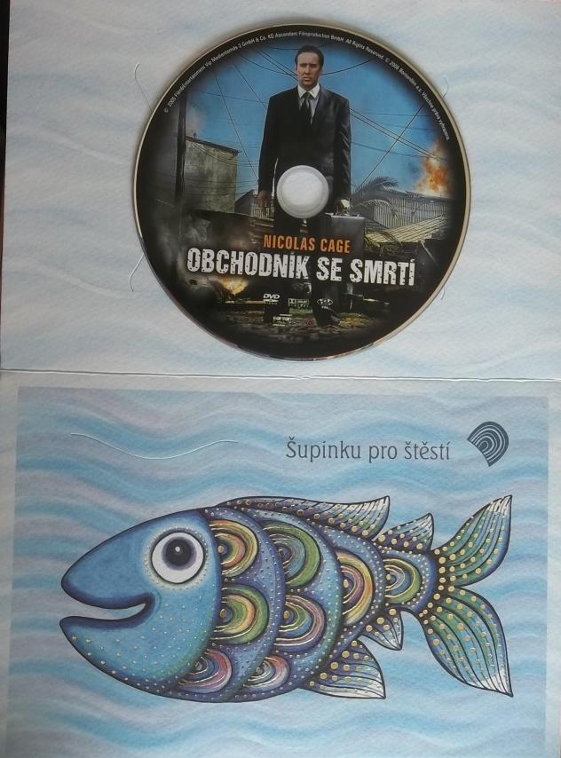 Obchodník se smrtí (dárková obálka) DVD